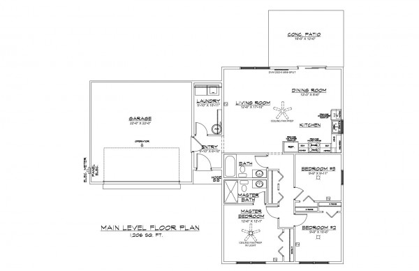 Bobby's Place Lot 14 Floor Plan