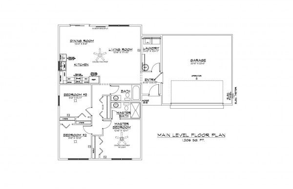 Kingsfield Estates Lot 41 floor Plan