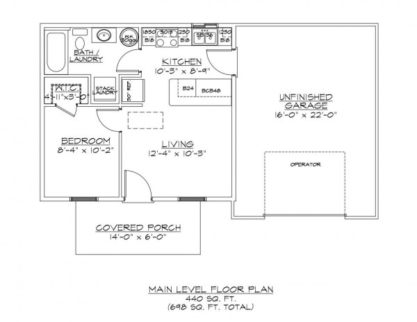 Blair Townhall Road Parcel I Floor Plan