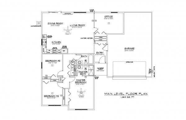 Center Place Lot 46 Floor Plan