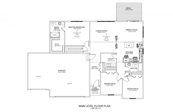 Holiday Forest Lot 31 Floor Plan