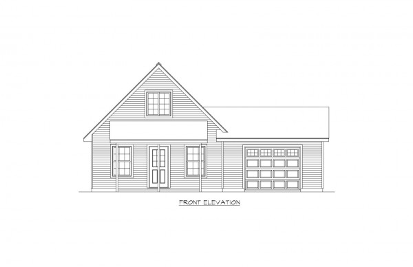 Woodbury Estates lot 6 Elevation