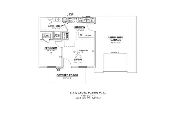 Woodbury Estates lot 6 Floor Plan