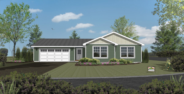 Woodbury Estates lot 5 Rendering