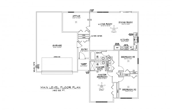 Woodbury Estates lot 5 Floor Plan