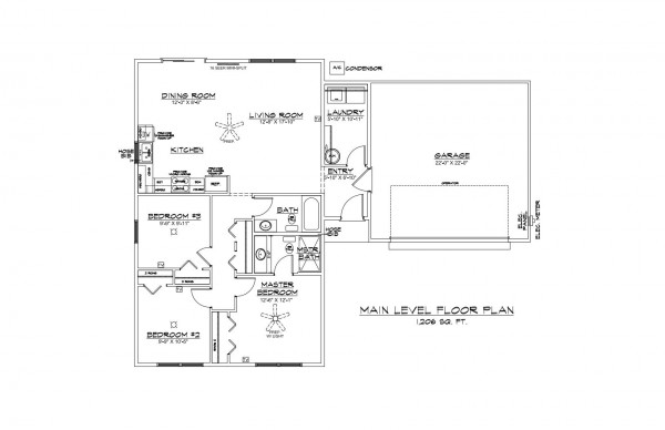 Kingsfield Estates Lot 30 Floor Plan