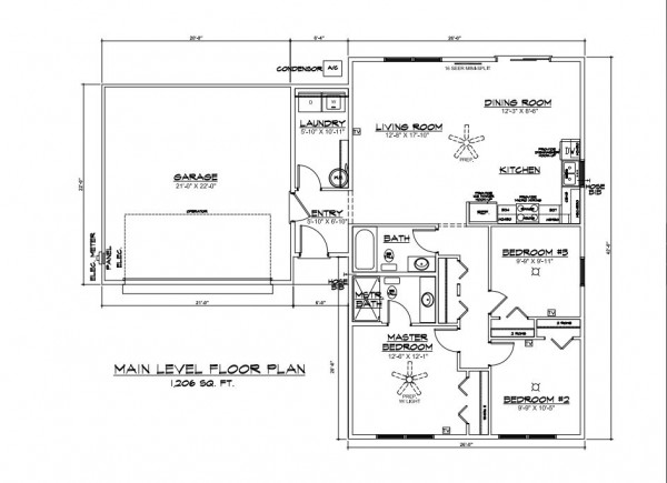 Sawyer Road Parcel B Floor Plan