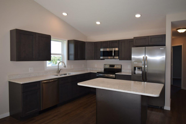 Heritage Estates lot 198 Kitchen