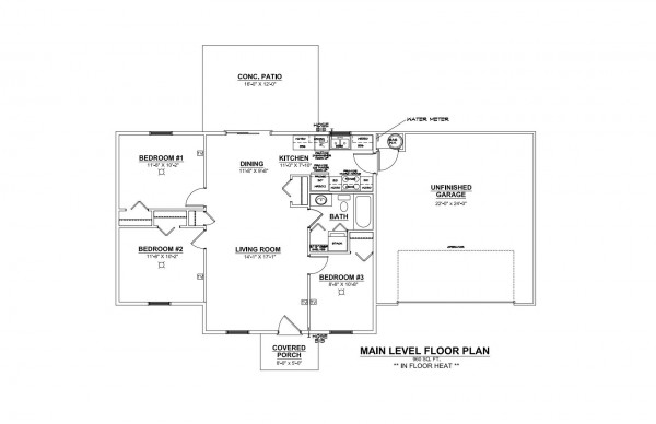 Woodbury Estates Lot 19 Floor Plan