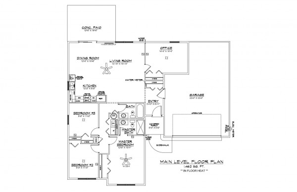 Woodbury Estates Lot 17 Floor Plan