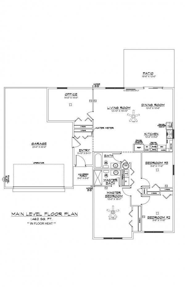 Wistrand Woods lot 6 Floor Plan