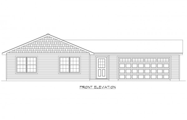 Kingsfield Estates lot 7 Elevation