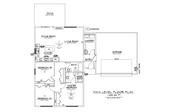 Wistrand Woods lot 3 Floor Plan