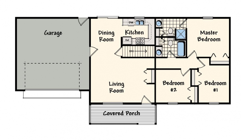 Independence eastwood custom homes for Eastwood homes floor plans