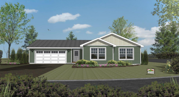 Wistrand Woods lot 6 Rendering